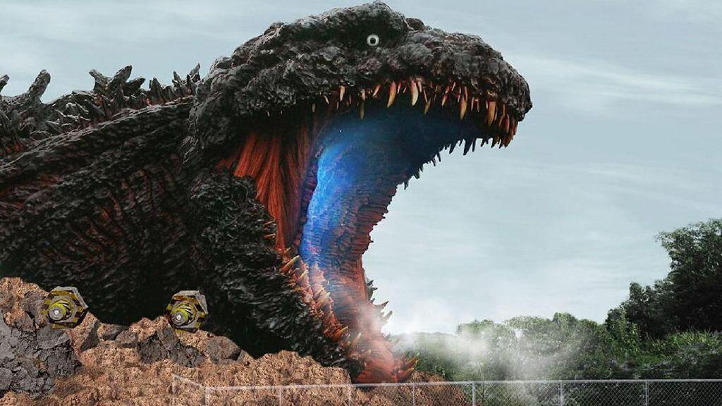 Siap-siap Ketemu Godzilla Seukuran di Film!