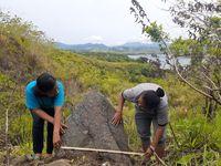 Arkeolog di Papua Temukan Batu Pemujaan Roh Nenek Moyang