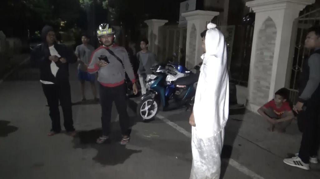 Pemuda yang Ngeprank Pocong di Makassar Minta Maaf
