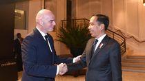 Presiden Jokowi Bahas Piala Dunia U-20 2021 dengan Presiden FIFA