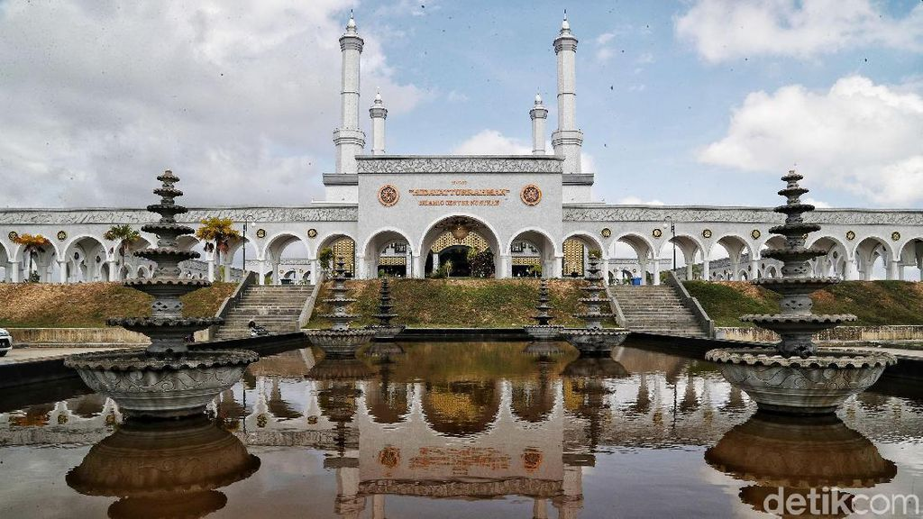 Megahnya Islamic Center Nunukan