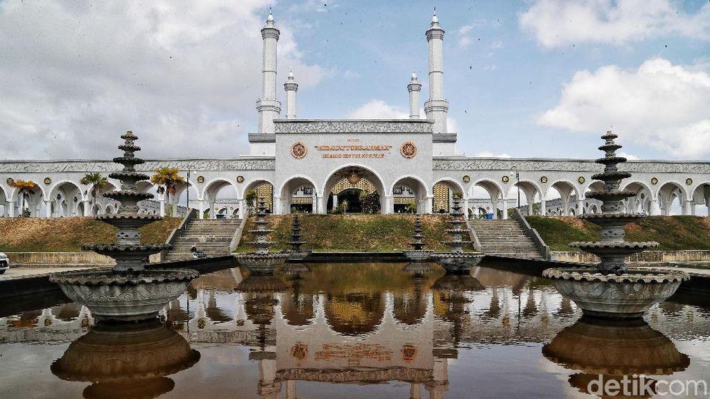 Megahnya Islamic Center Nunukan