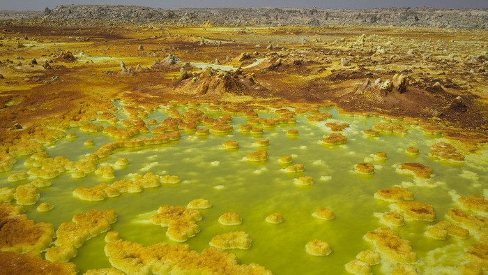Wilayah Dallol. Foto: Nature