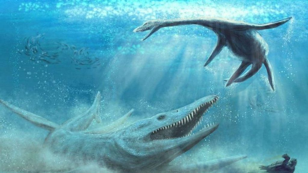 Fosil Monster Penguasa Lautan Ditemukan
