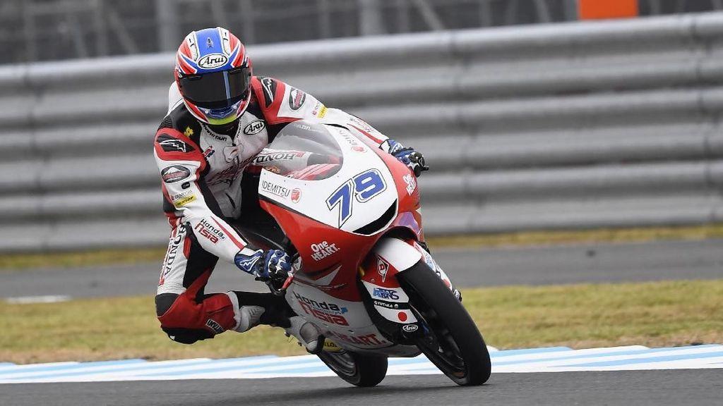 Salut! Rider Moto3 Ini Berikan Penghormatan untuk Afridza Munandar
