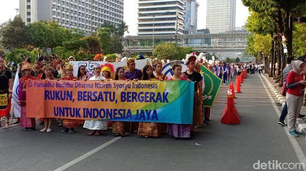 Menteri PPPA dan Wamenag Hadiri HUT Niciren Syosyu Indonesia