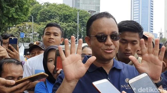 Foto: Gubernur DKI Jakarta Anies Baswedan (Rolando Fransiscus Sihombing/detikcom)