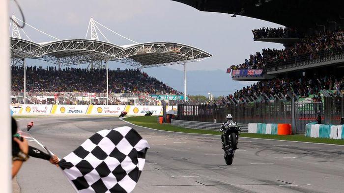 Maverick Vinales naik ke posisi ketiga klasemen MotoGP 2019 usai menang di Malaysia (Lai Seng Sin/REUTERS)