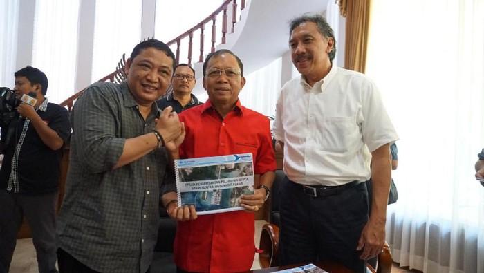 Koster setuju penataan Pelabuhan Benoa jalan lagi. (Dok. Pelindo III)