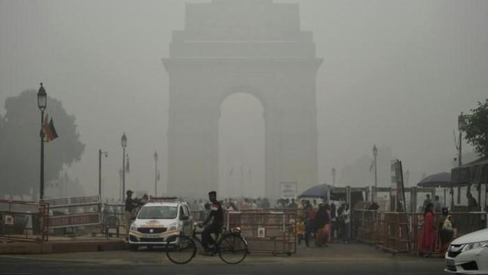 Foto: Polusi udara di New Delhi (AFP Photo/Sajjad HUSSAIN)