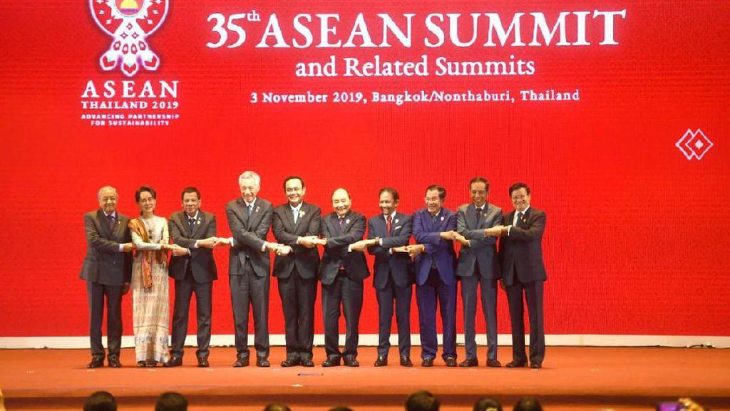Bicara di KTT ASEAN-RRT, Jokowi Harap Stabilitas Keamanan Indo-Pasifik