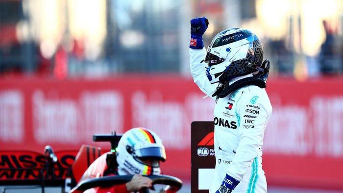 Valtteri Bottas start terdepan di GP Formula 1 Amerika Serikat. (Foto: Dan Istitene/Getty Images)