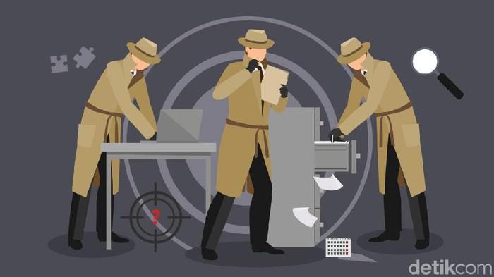 Ilustrasi detektif