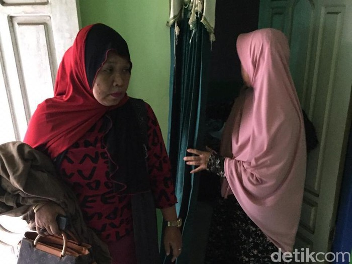 Dua perempuan yang disandera 6 hari/Foto: Yakub Mulyono