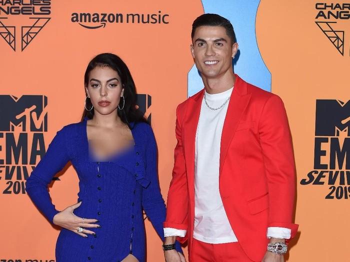 Pacar Ronaldo, Georgina Rodriguez. Foto: Kate Green/Getty Images for MTV