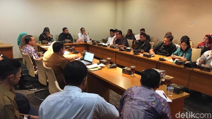 Foto: Rapat Komisi E DPRD Sumut (Khairul-detikcom)