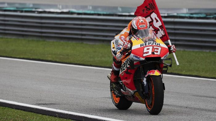 Marc Marquez dominan di klasemen MotoGP 2019. (Foto: Mirco Lazzari gp/Getty Images)
