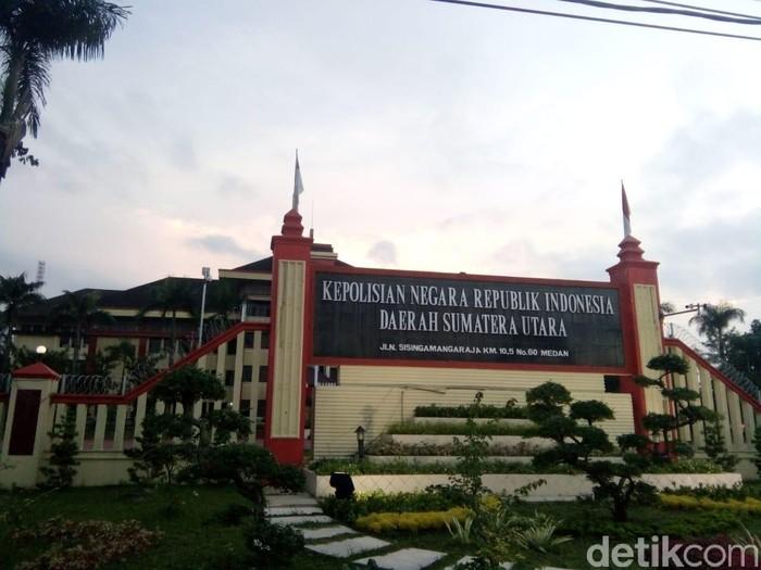 Polda Sumatera Utara (Polda Sumut)/ Arfa-detikcom
