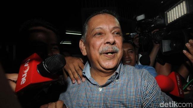 Sofyan Basir tinggalkan rutan KPK/Foto: Ari Saputra