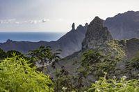 Bentang alam di St Helena