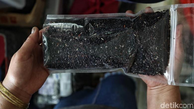 Beras hitam dari Krayan (Pradita/detikcom)