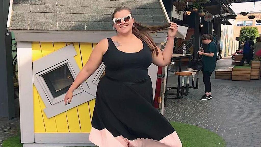 Potret Wanita yang Nyerah Diet & Olahraga, Kini Pasrah Gemuk Hingga Ukuran 4L