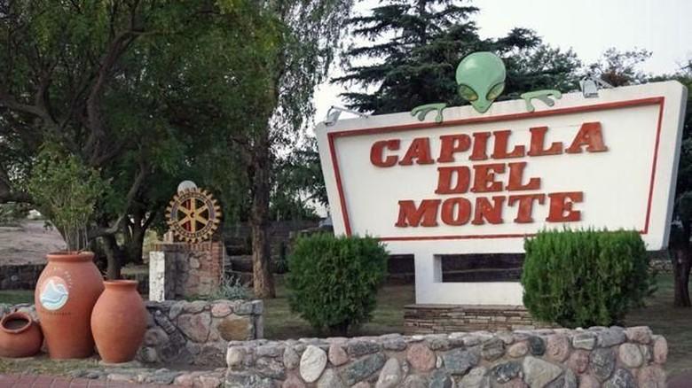 Warga kota kecil di Argentina ini mengaku pernah lihat UFO dan alien. (Capilla del Monte/BBC)