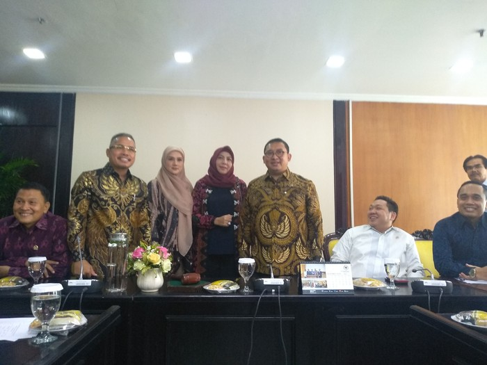 Foto: Fadli Zon ditetapkan jadi Ketua BKSAP DPR (Azizah/detikcom)