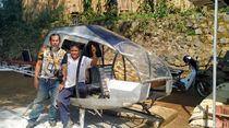 Ini Spesifikasi Helikopter Rp 30 Juta Buatan Tukang Bubut Sukabumi