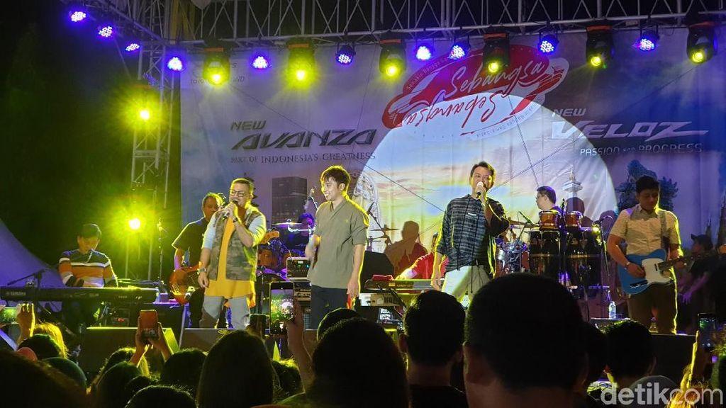 Rayuan Cinta Kahitna Tutup Festival Avanza-Veloz Sebangsa Bali
