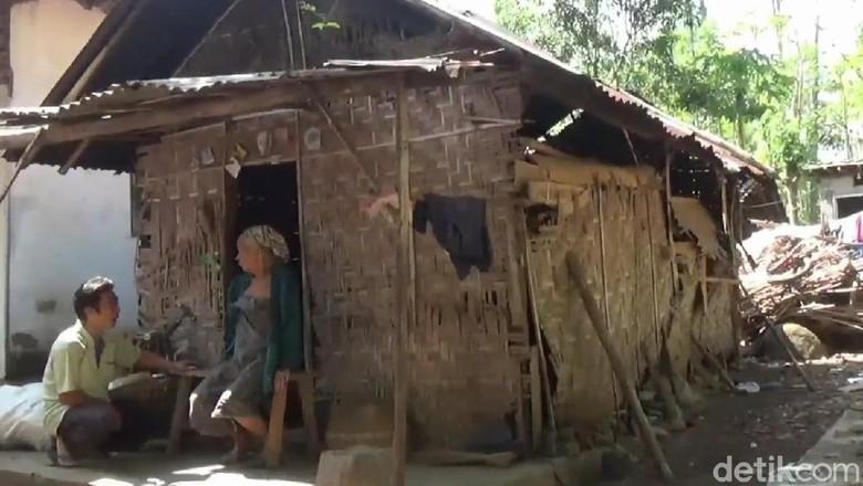 Nenek Satiyamah Hidup Sebatang Kara di Pasuruan, Belum Tersentuh Bantuan