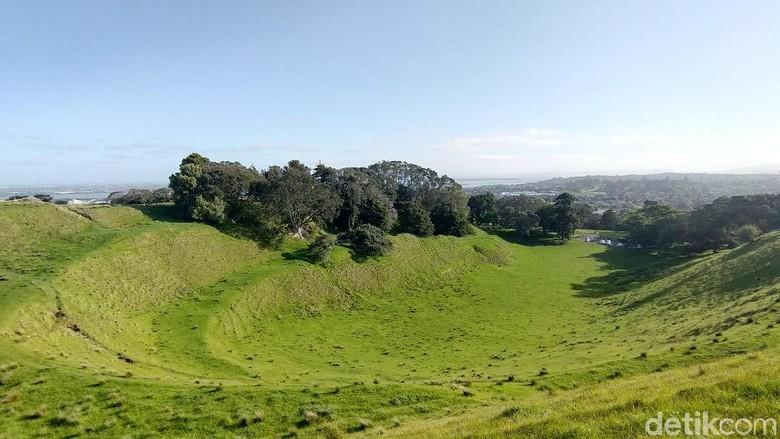Pemandangan alam menakjubkan New Zealand (Edwidhian Tri/detikcom)