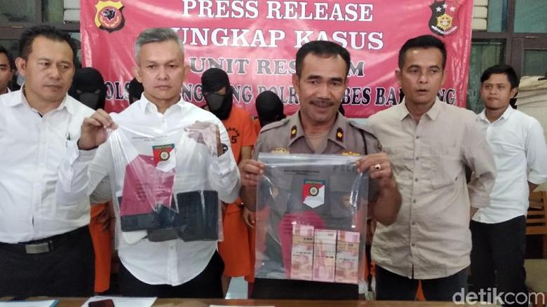 Polisi Bekuk Komplotan Gembos Ban Asal Lampung