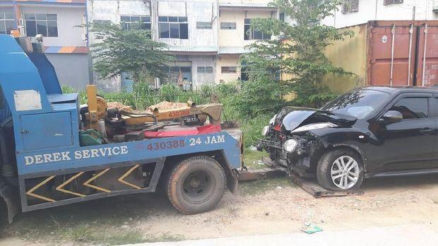 Pengemudi mobil 'terbang' yang hantam warga di Batam