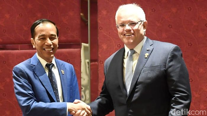 Foto: Pertemuan Indonesia-Australia (Tim Infografis: Andhika Akbarayansyah)