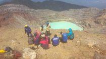 2 Pendaki Hilang Asal Jambi Ditemukan Tewas Dekat Kawah Gunung Dempo