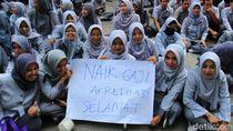 Pelayanan Dibuka Lagi, Sebagian Karyawan RSUD Al-Ihsan Masih Demonstrasi