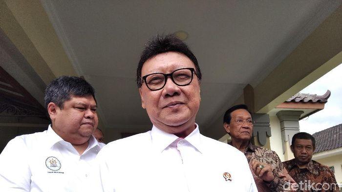 Menteri Pendayagunaan Aparatur Negara dan Reformasi Birokrasi (PAN-RB) Tjahjo Kumolo/Foto: Usman Hadi/detikcom