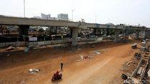 Gelagar Proyek Tol Becakayu Patah Dipicu Ikatan Lepas Saat Pengangkutan
