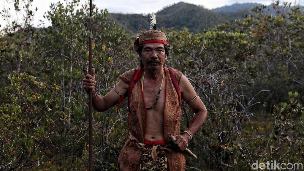 Suku Dayak Lundayah dan Filosofi Buaya