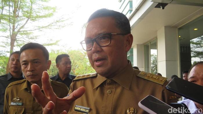 Gubernur Sulsel Nurdin Abdullah (Noval Dhwinuari Antony/detikcom)