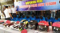 Terlibat Pengeroyokan di Sukoharjo, 11 Orang Dibekuk Polda Jateng