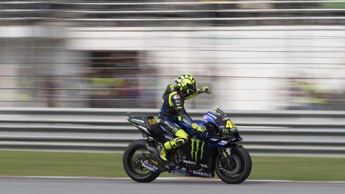 Loris Reggiani menilai Valentino Rossi masih mampu bersaing di MotoGP (Foto: Mirco Lazzari gp/Getty Images)