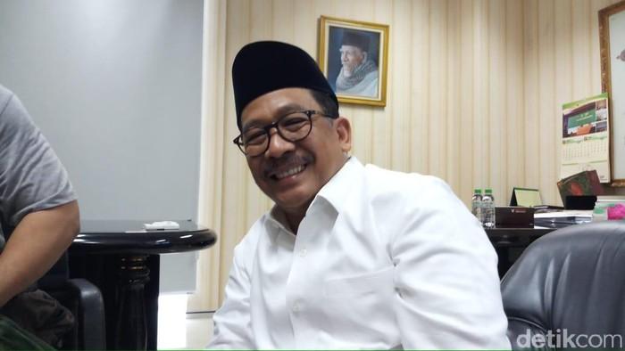 Wamenag Zainut Tauhid Saadi (Farih Maulana Sidik/detikcom)