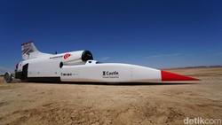 Kurang Duit, Jet Darat Gagal Bikin Rekor Kecepatan Baru