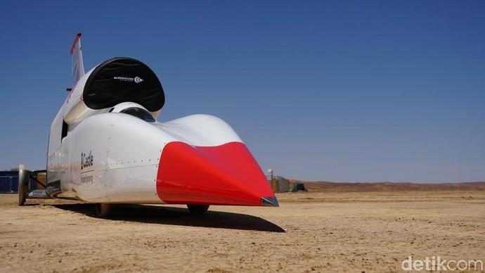Mobil Ini Coba Pecahkan Rekor 1.600 Km/Jam