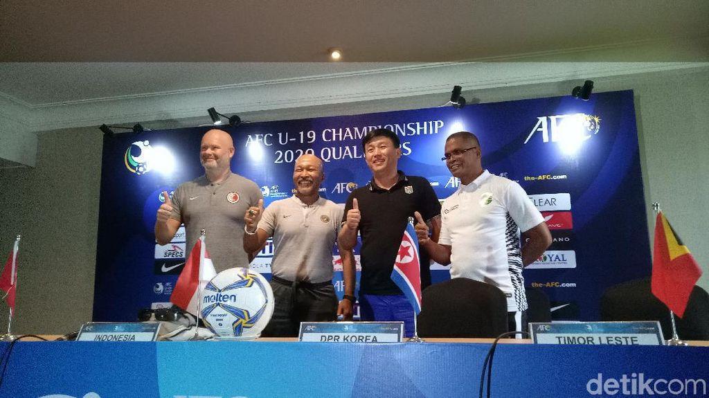 Indonesia Vs Timor Leste di Kualifikasi Piala Asia U-19 Potensi Panas