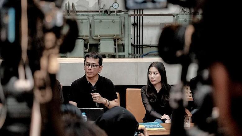 Wishnutama dan Angela Tanoe (dok Kementerian Pariwisata dan Ekonomi Kreatif)