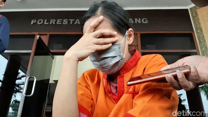 Foto: Sutisna, ibu bayi tewas yang dimasukkan ke dalam mesin cuci (Raja-detikcom)