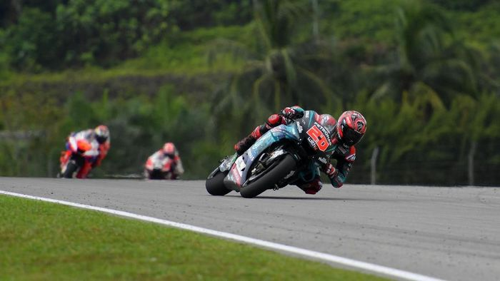 MotoGP Valencia bisa disaksikan secara live streaming di detikSport. (Foto: Thananuwat Srirasant / Getty Images for Petronas)